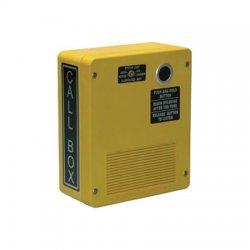 GAI-Tronics - CB193-002 - Weatherproof UHF Pushbutton RF Call Box, Yellow