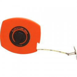 Lufkin - HV30CME - Tape Measure, 100' long, 3/8' wide, Orange Case