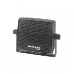 Speco - AES4 - Extension Speaker, 1.6 lb., Black, 82dB