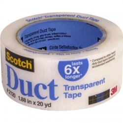 3M - 051131-98011 - Duct Tape, Clear 1.88 x 60'/ 1 roll