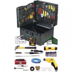 Jensen Tools - JTK-53WW - WLS05-5D3CK - Deluxe Communications Kit 110pc in Wheeled Case