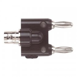 Pomona Electronics - 1269 - Pomona 1269 RF Adapter Between Series ADAPTER, BNC FEMALE TO DOUBLE BAN