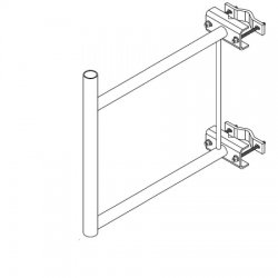 CommScope / Andrew - S-200 - Stand-Off Bracket, 2 Foot