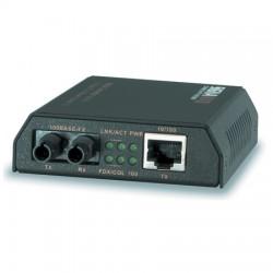 Signamax / AESP - 065-1120ED - 10/100BaseT/TX to 100BaseFX Media Converter