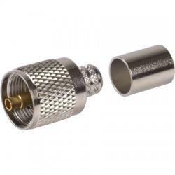 Amphenol - 182130 - Amphenol RF 182130 UHF Male Crimp-9913, LMR40
