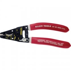 "Klein Tools - 63020 - Klein Tools Klein-Kurve Multi-Cable Cutter - 7"" Length - Steel - Double Dipped Handle"