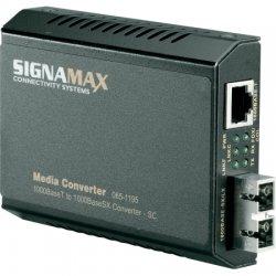 Signamax / AESP - 065-1195 - GigE Ethernet to Gig SC MM Fiber Media Converter