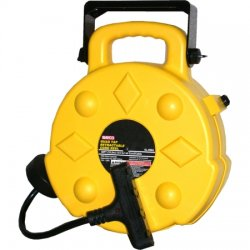 Bayco - SL-8904 - 120VAC Commercial Retractable Cord Reel; Number of Outlets: 4, Cord Included: Yes