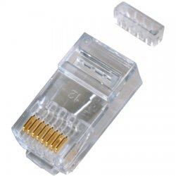 Cinch Connectors - 32-2198-UL - Two-piece, 8 pin, RJ-45, CAT5e Modular Connectors