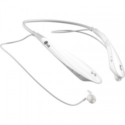 LG Electronics - HBS-800.ACUSWPK - Tone Ultra Bluetooth In-Ear Headphones in White
