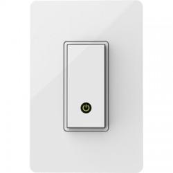 Belkin / Linksys - F7C030FC - Belkin WeMo Light Switch - Rocker Switch - Light Control, Fan Control - White