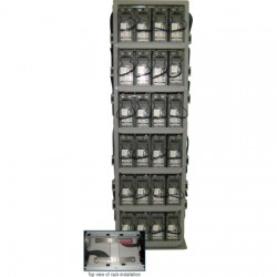 Deka - TR4X5Z4-48JBB100 - 5 Shelf Battery Rack for 12AVR200-ET Batteries