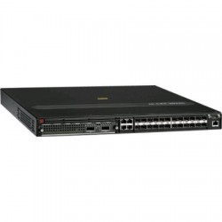 Brocade Communications - NI-CER-2024FRTAC - Brocade NetIron CER 2024F - Router - 24-port switch - GigE - rack-mountable