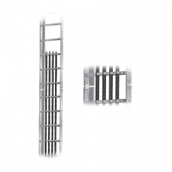 Sabre - C20-128-021 - Waveguide Ladder 20', 12 holes w/ 3' Rung Spacing
