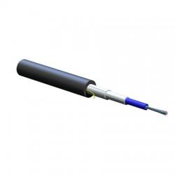 Corning - 012ESP-T4101D20 - Corning FREEDM LST Loose Tube, Gel-Free Cable, Plenum, 12 F, Single-mode (OS2) - Fiber Optic for Network Device - Shielding - Black