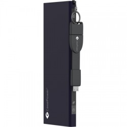 CasePower - 830001 - Portable Battery 5700 w/ Click-to-Go Cable - Blue