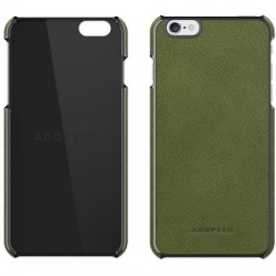 Adopted - APH13145 - Leather Wrap iPhone 6/6s Saddle Olive/Gunmetal