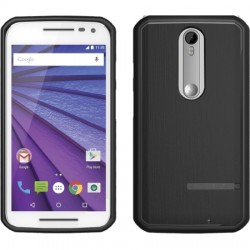 Body Glove - 9539901 - Satin Case for Motorola Droid Turbo 2 in Black