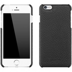 Adopted - APH13248 - Leather Wrap Case iPhone 6/6s Plus in Black/Black