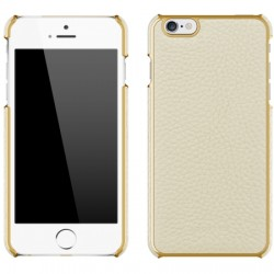 Adopted - APH13249 - Leather Wrap Case iPhone 6/6s Plus in White Gold