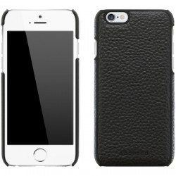 Adopted - APH13244 - Leather Wrap Case Apple iPhone 6/6s in Black/Black