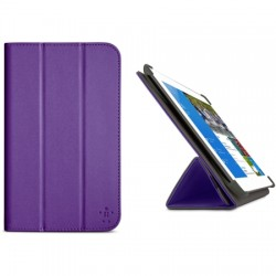 Belkin / Linksys - F7P321B1C01 - Tri-fold Cover & Stand For Samsung Galaxy Tab 4 7.0