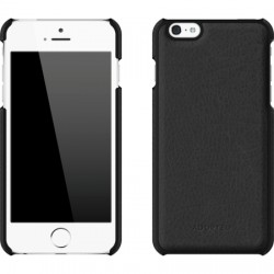 Adopted - APH13126 - Leather Wrap Case for Apple iPhone 6s/6 Plus Black