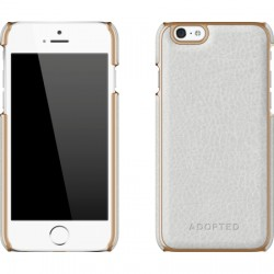 Adopted - APH13112 - Leather Wrap Case Apple iPhone 6s/6 in White/Gold