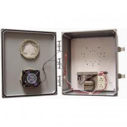 Ventev - V14126LO-4.5HC - 14x12x6 H/C Enclosure. Solid Door/Latch Locks