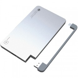 CasePower - 120001 - EDGE 3000 mAh with Lightning and Micro-USB Silver