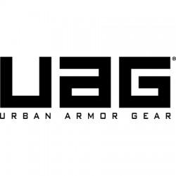 Urban Armor Gear - UAG-LGG4-ICE-W/SC - Composite Case for LG G4 in Ice/Black