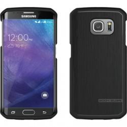 Body Glove - 9494101 - Body Glove Satin Galaxy S6 edge - Smartphone - Black - Textured - Satin, Brushed Aluminum, High Gloss - Gel
