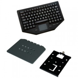 Havis - PKG-KB-103 - Rugged In-Vehicle Keyboard & Keyboard Mount Plate
