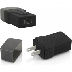 Incipio - PW-172 - Incipio Single Port USB Wall Charger- 2.4 Amp - 5 V DC Output Voltage - 2.40 A Output Current