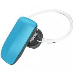 AlphaComm - C-BT245-BLU - Color Burst Mini Bluetooth Headset in Blue Blaze