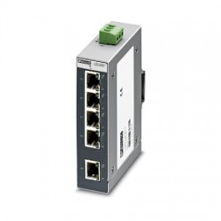 Phoenix Contact - 2891001 - Unmanaged Industrial Switch SFNB 5TX