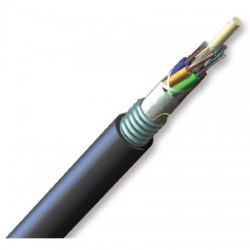 Corning - 048EUC-T4100D20 - ALTOS Lite Loose Tube, Gel-Free, Single-Jacket, Single-Armored Cable, 48 F, Single-mode (OS2)