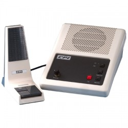 CPI Comm - 234-0003-005BKMOD - DR/TR/LE20 Split-Bar Dynamic Desk Microphone