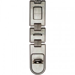 Master Lock - 722DPF - Master Lock Silver Hardened Steel General Security Hasp
