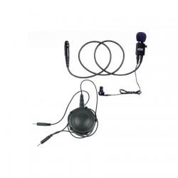 Motorola - BDN6768A - Standard Noise Ear Microphone, Blk