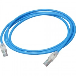 Belden / CDT - C6T1106010 - 10ft Cat-6 Blue Indoor RJ45M-RJ45 Male