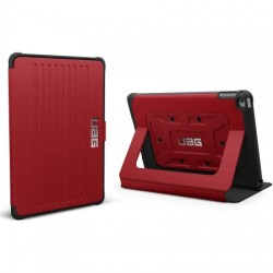 Urban Armor Gear - UAG-IPDAIR2-RED-VP - Urban Armor Gear Carrying Case (Folio) for iPad Air 2 - Magma - Impact Resistant, Scratch Resistant, Water Resistant, Drop Resistant