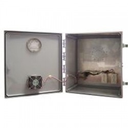 Ventev - V181610LO-4.25HC - 18'x16'x10' Heated/Cooled Enclosure with Latch