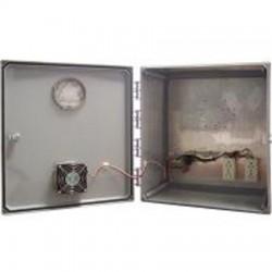 Ventev - V181610KO-6.25HC - 18x16x10 Heated/Cooled Enclosure CAT60 Locks