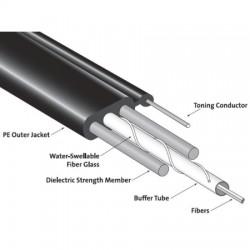 Corning - 002EB1-14100A20 - Duplex OS2 Loose Tube