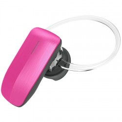 AlphaComm - C-BT245-PNK - Color Burst Mini Bluetooth Headset in Pink Pop