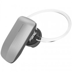 AlphaComm - C-BT245-SIL - Color Burst Mini Bluetooth Headset in Silver