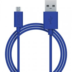 Incipio - PW-200-BLU - Incipio CHARGE/SYNC Micro USB Cable - USB - 3.28 ft - 1 x Type A Male USB - 1 x Male Micro USB - Blue