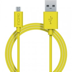 Incipio - PW-200-YLW - Incipio - USB cable - Micro-USB Type B (M) to USB (M) - 3.3 ft - yellow