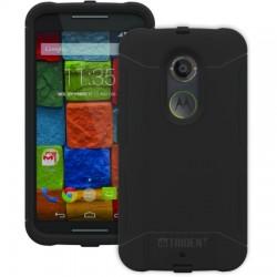 AFC Trident - AG-MRXONE-BK000 - Trident Aegis Smartphone Case - Smartphone - Black - Silicone, Polycarbonate Plastic